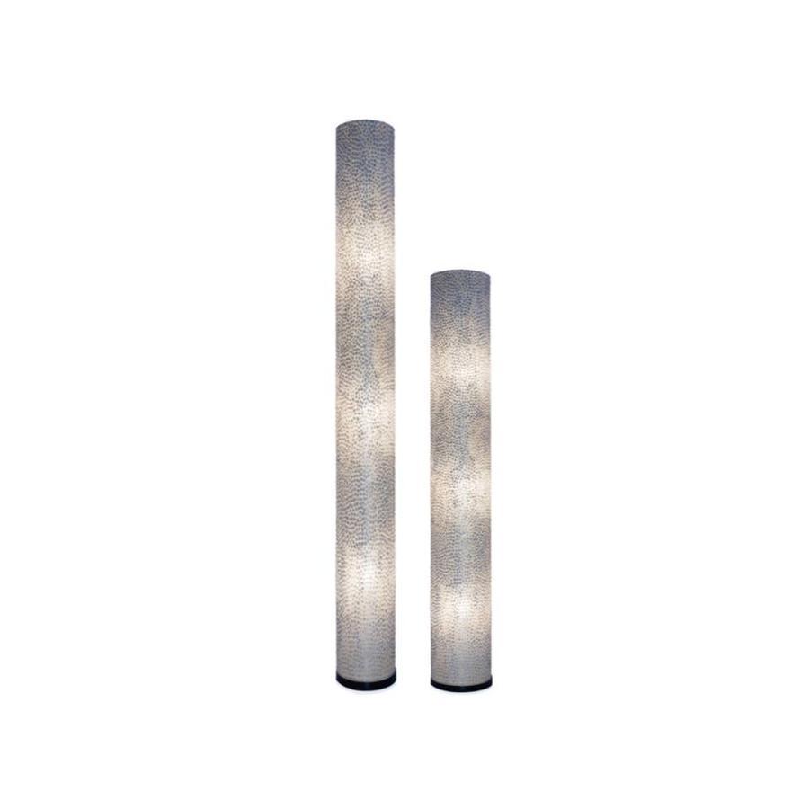 Villaflor Villaflor schelpenlamp - Wangi White - vloerlamp - Cilinder - hoogte 200 cm