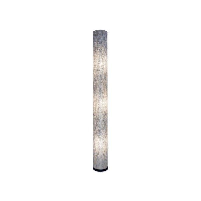 Villaflor schelpenlamp - Wangi White - vloerlamp - Cilinder - hoogte 200 cm