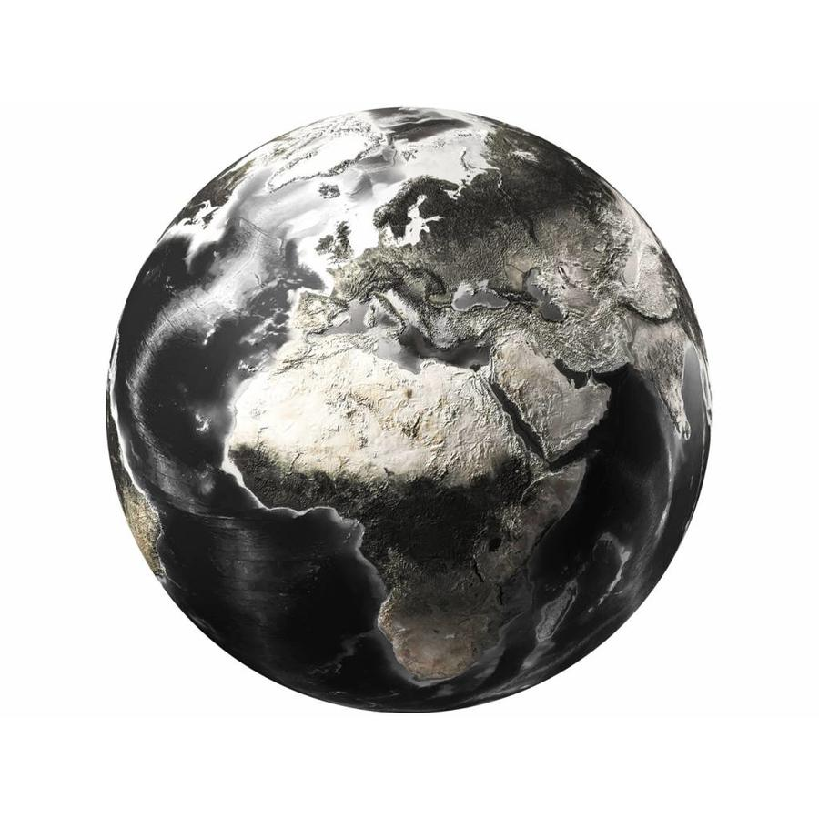 Gave Specials Glass Art World Map round 100