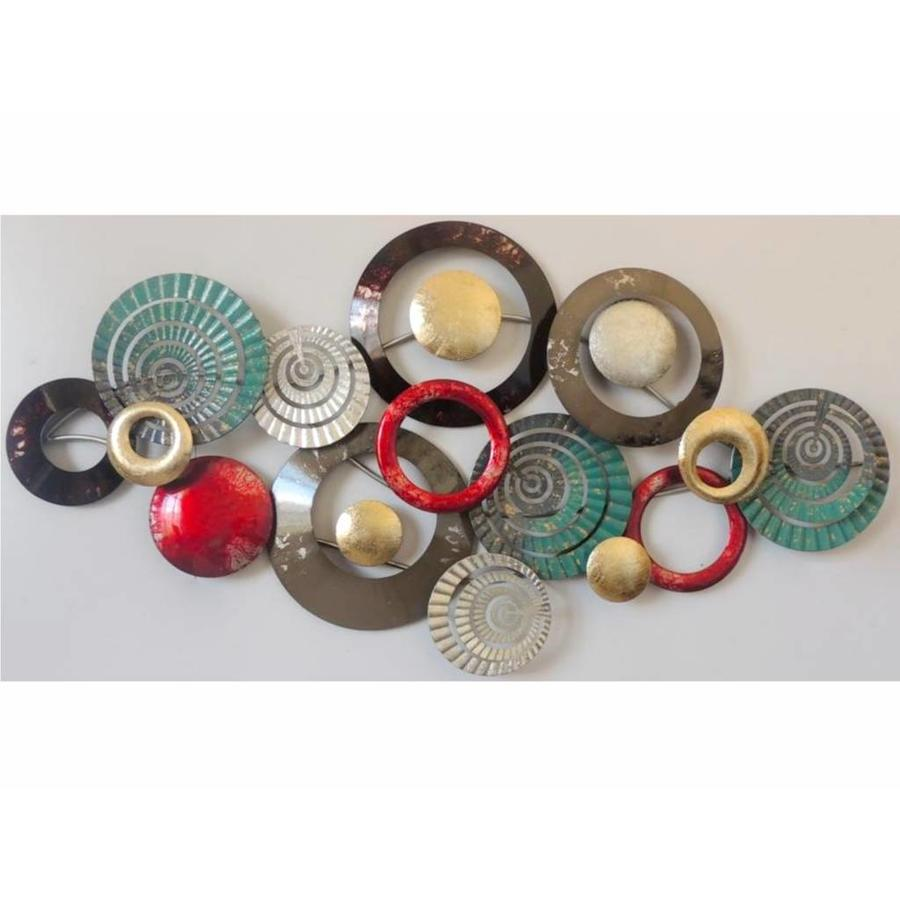 Gave Specials Wall Art Twinged Circles 135x70