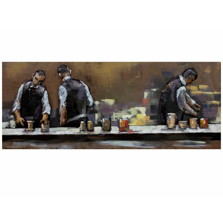Gave Specials Metal Art Bartenders at work 150x60