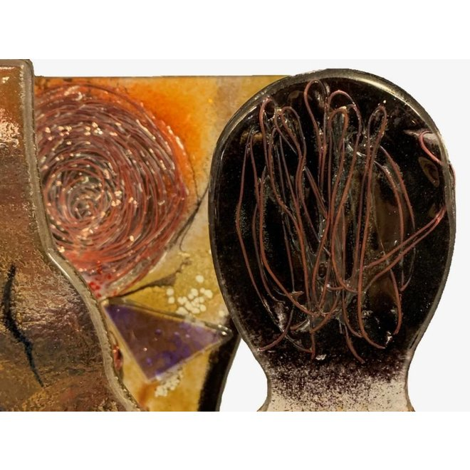 Artistic Glas 'Naked Man & Woman'