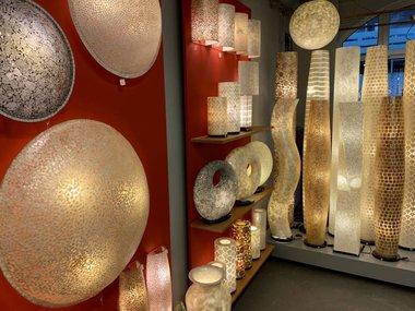 Schelpenlampen per soort