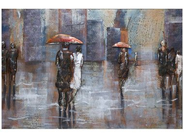 Gave Specials Metal Art Rainy Day 80x120