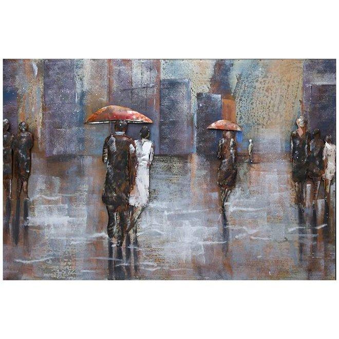 Metal Art Rainy Day 80x120
