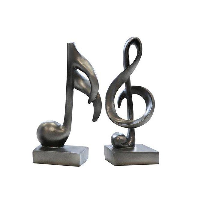 Sculpturen set 'Music'