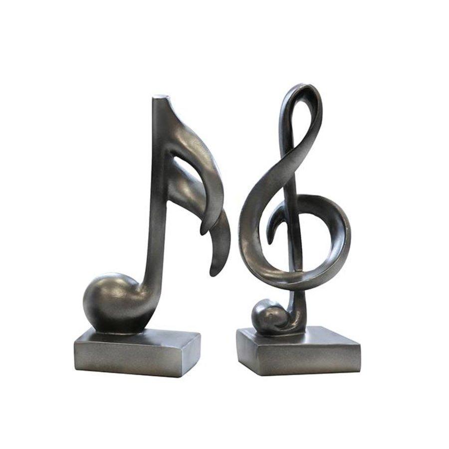 Casablanca Sculpturen set 'Music'