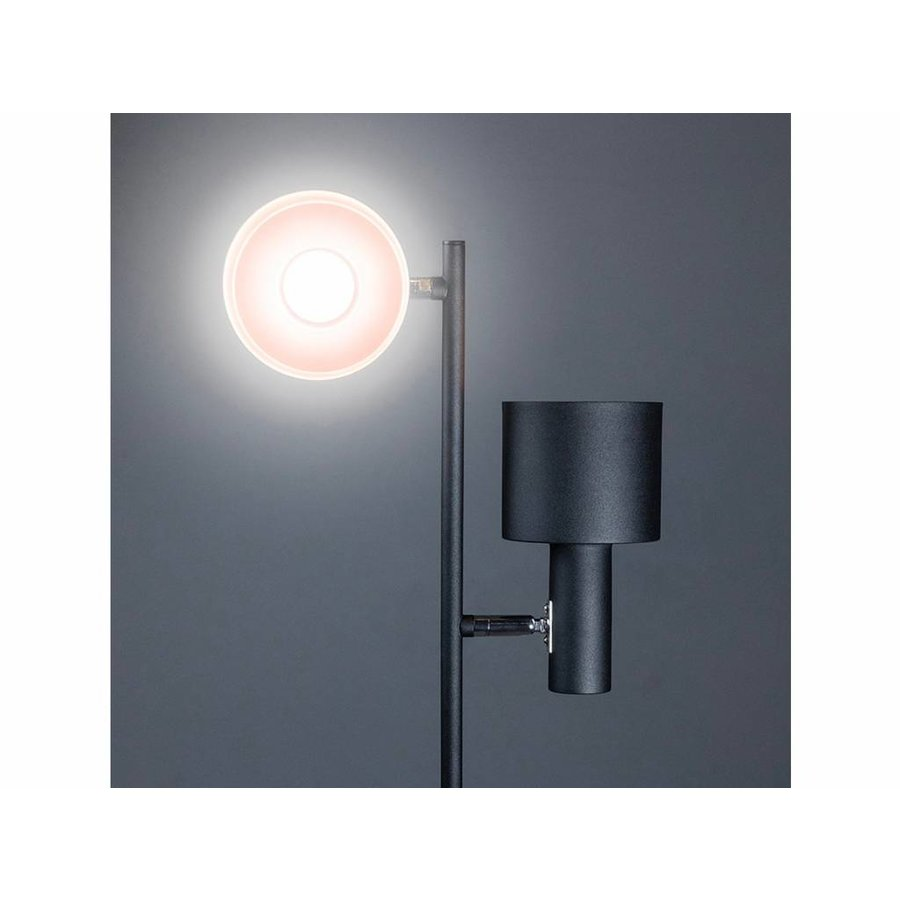 Expo Trading Vloerlamp Sledge zwart