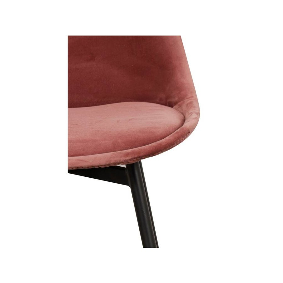 Pole to Pole Chair Leaf Pink