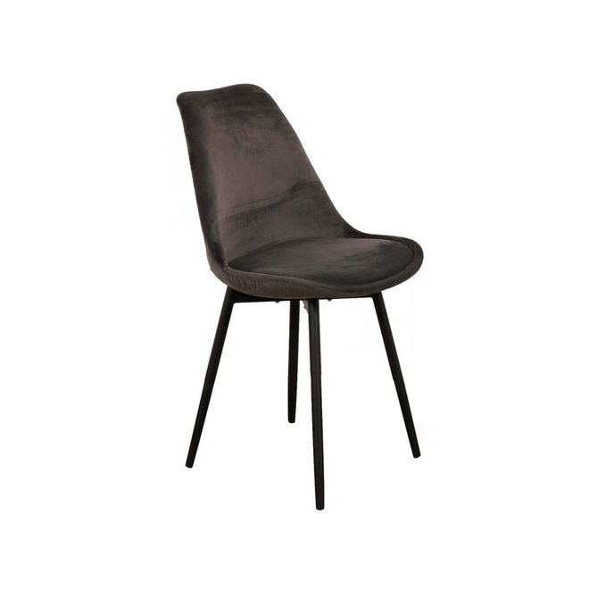 Chair Leaf Dark Grey