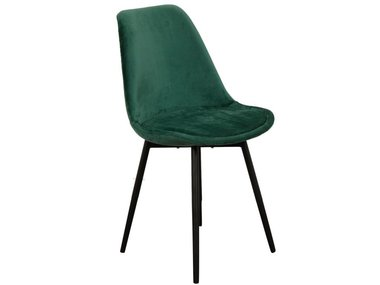 Pole to Pole Chair Leaf Emerald Green