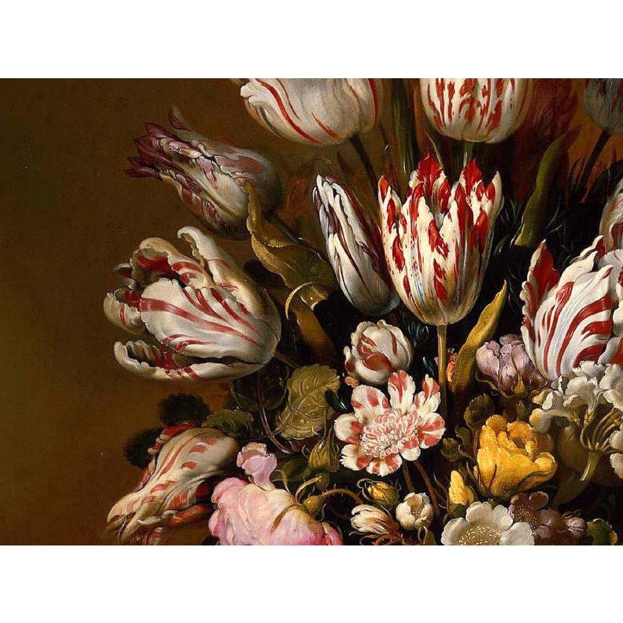 Ter Halle Glass Art Bloemstilleven 120x80