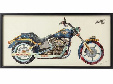 Kare Picture Frame Art Motorbike 60x120