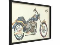 Kare Picture Frame Art Motorbike