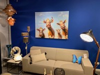 Imageland Painting Happy Cows 90 x 120 cm