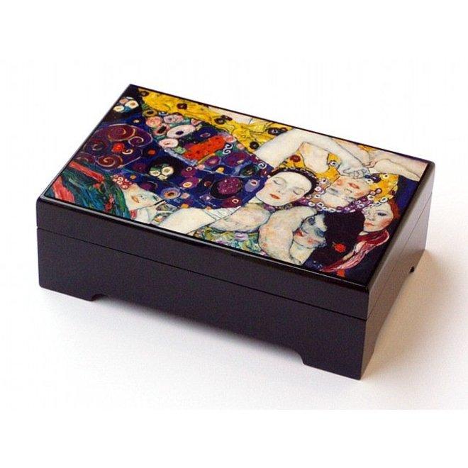 Lakdoos Klimt, Die Jungfrau