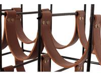 Pole to Pole Wijnrek Sweet Leather