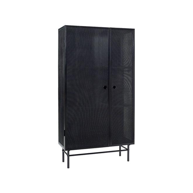 Cabinet Metal Mesh Black