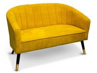 Gilde Sofa Ochre Sole