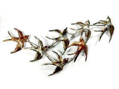 Sampaguita Wall Art A Flock of Swallows 105x45