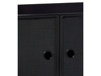 Hübsch Cupboard Metal Mesh Black