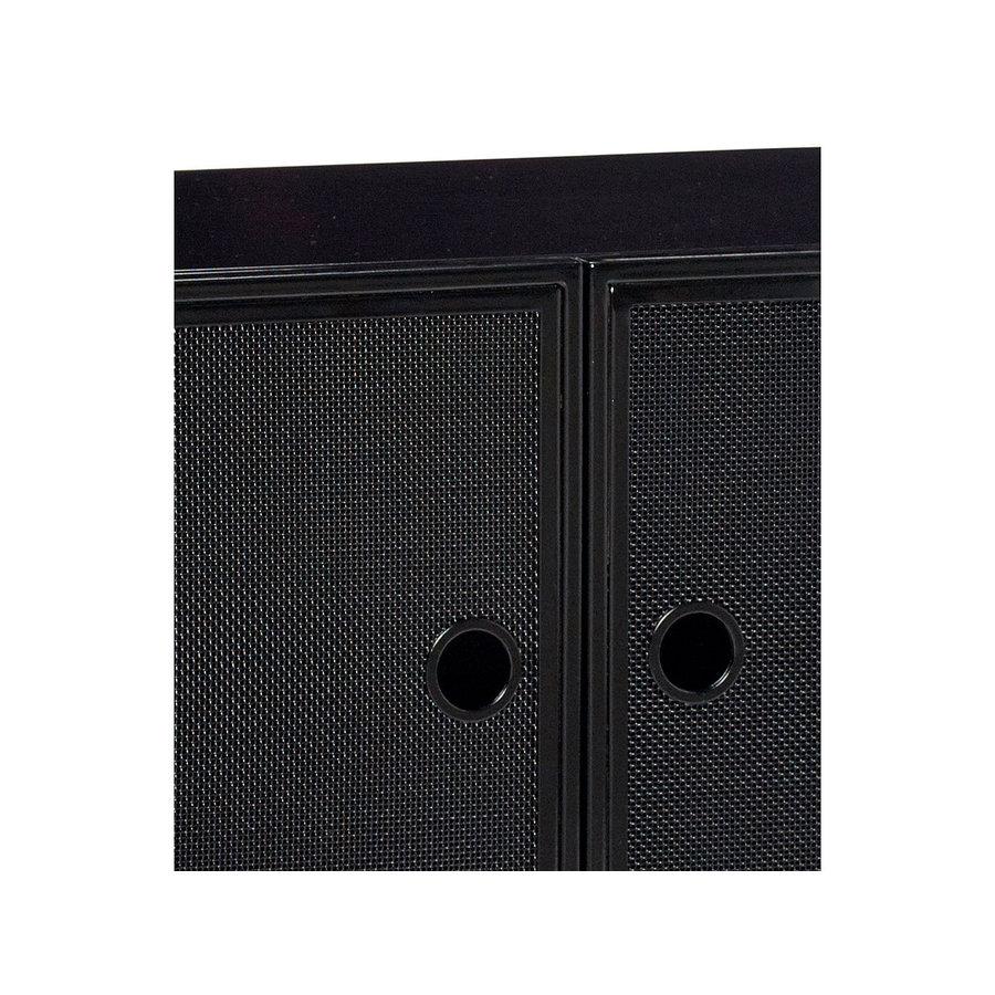 Hübsch Cupboard Metal Mesh Black