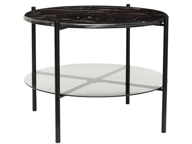 Hübsch Table Marble Black