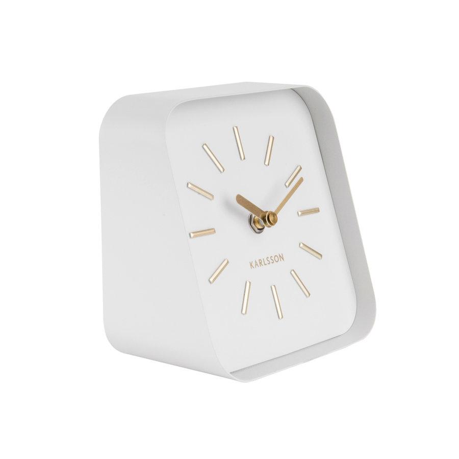 Karlsson Table Clock Squared, white