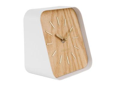 Karlsson Table Clock Squared, light wood