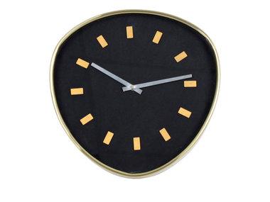 Werner Voß Wall Clock Retrospective, black