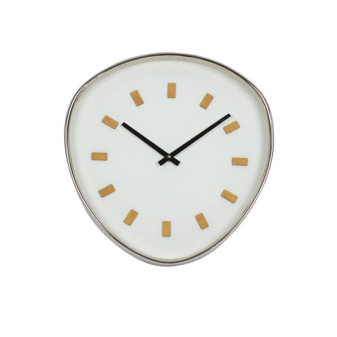 Wall Clock Retrospective, white