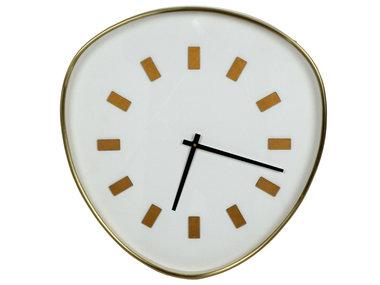 Werner Voß Wall Clock Retrospective, white XL