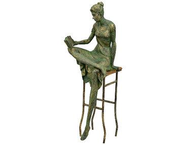Exner Vrouw op stoel, lezend