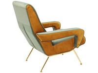 Kare Arm Chair Luna High Green