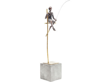 Kare Deco Object Stilt Fisher Man