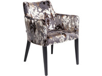 Kare Chair with Armrest Black Mode Sublime