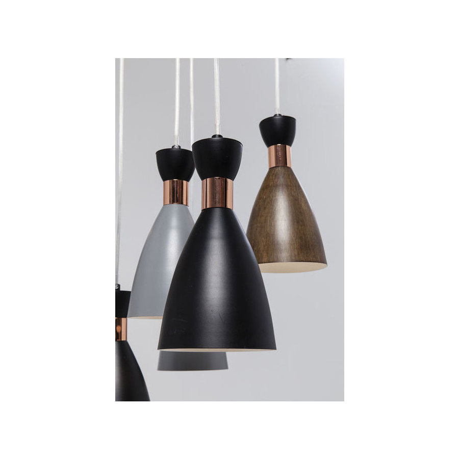 Kare Pendant Lamp Cones 9
