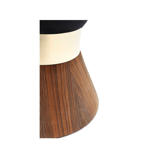 Stool Lilly Taille Black