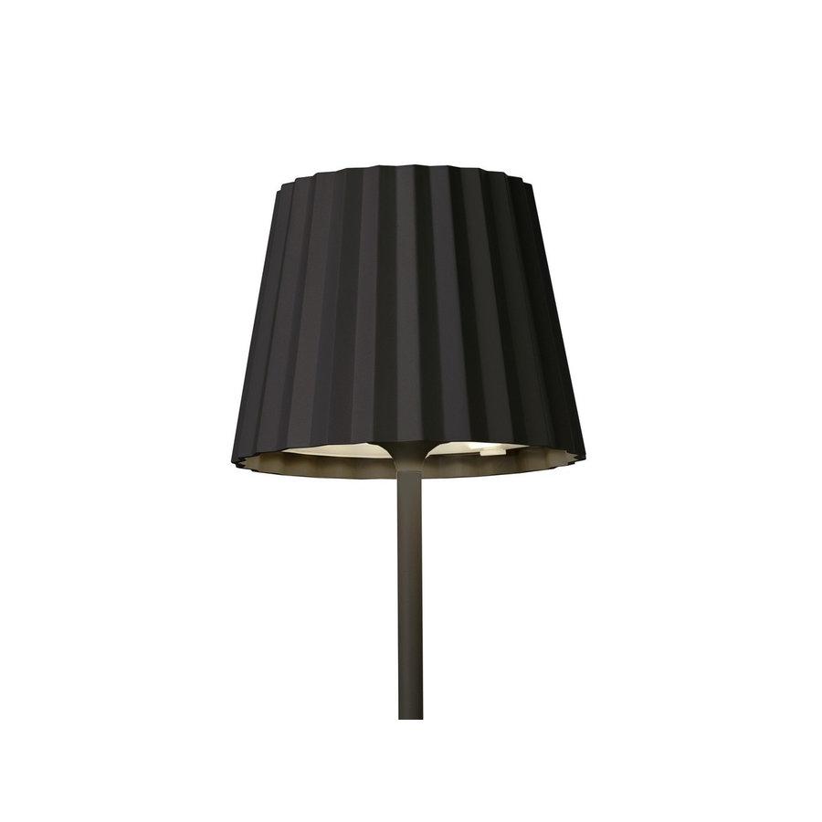 Sompex Accu LED Vloerlamp Troll, zwart