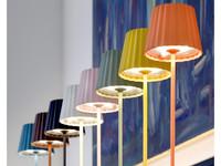 Sompex Accu LED Vloerlamp Troll, geel