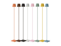 Sompex Accu LED Vloerlamp Troll, bruin