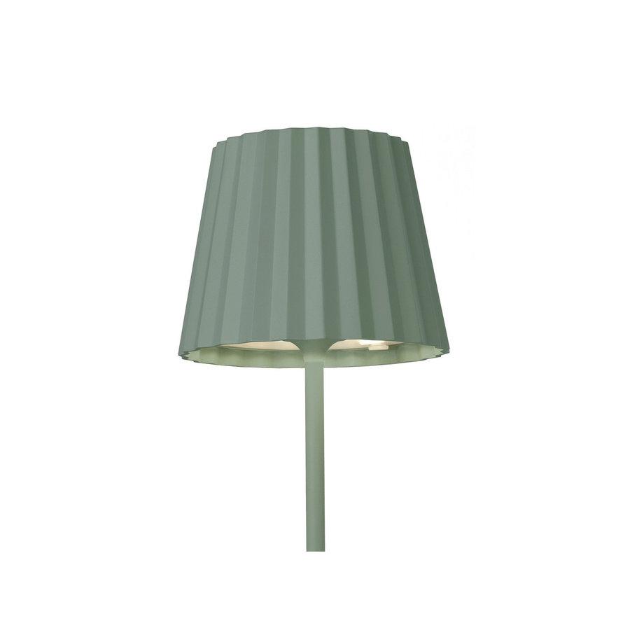 Sompex Accu LED Vloerlamp Troll, groen