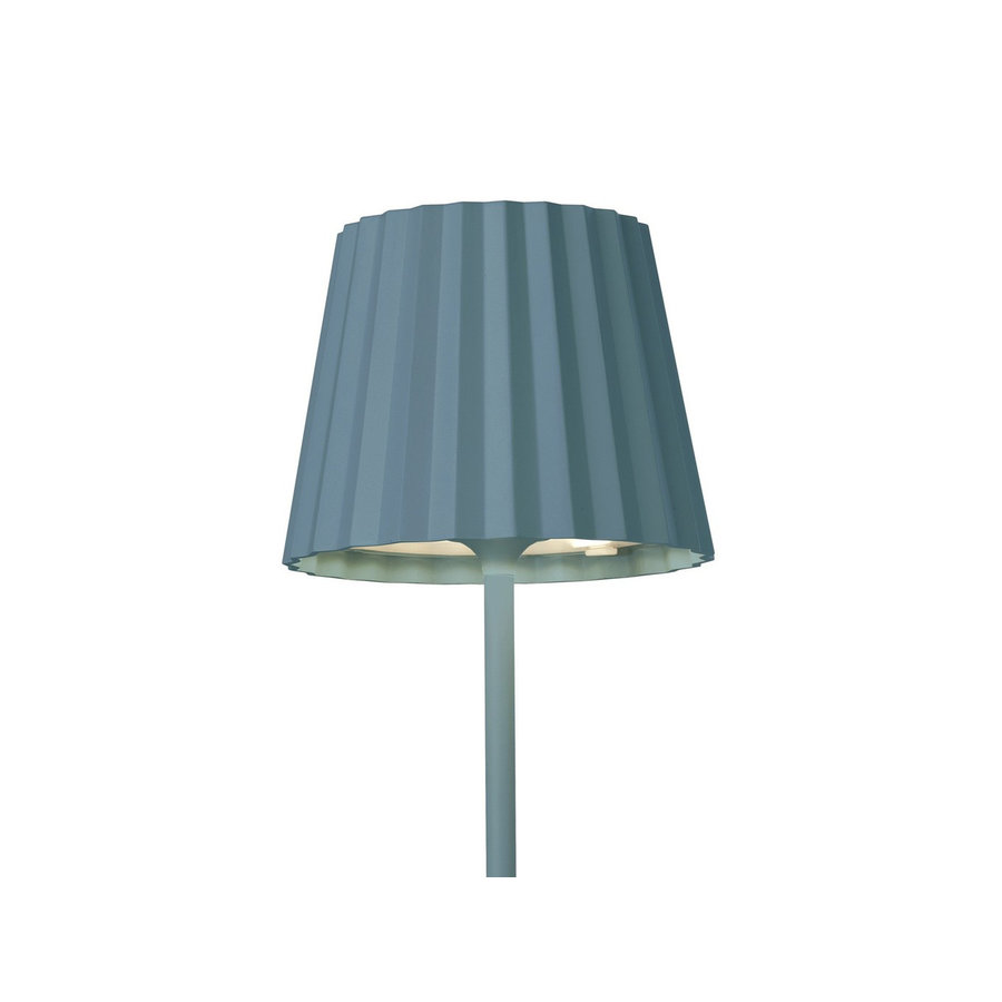 Sompex Accu LED Vloerlamp Troll, blauw
