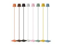 Sompex Accu LED Vloerlamp Troll, roze