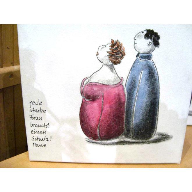 Vriendschap op Eikenhout: Achter elke succesvolle vrouw staat een sterke man