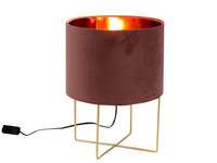 Werner Voß Table Lamp Trixi Velvet M