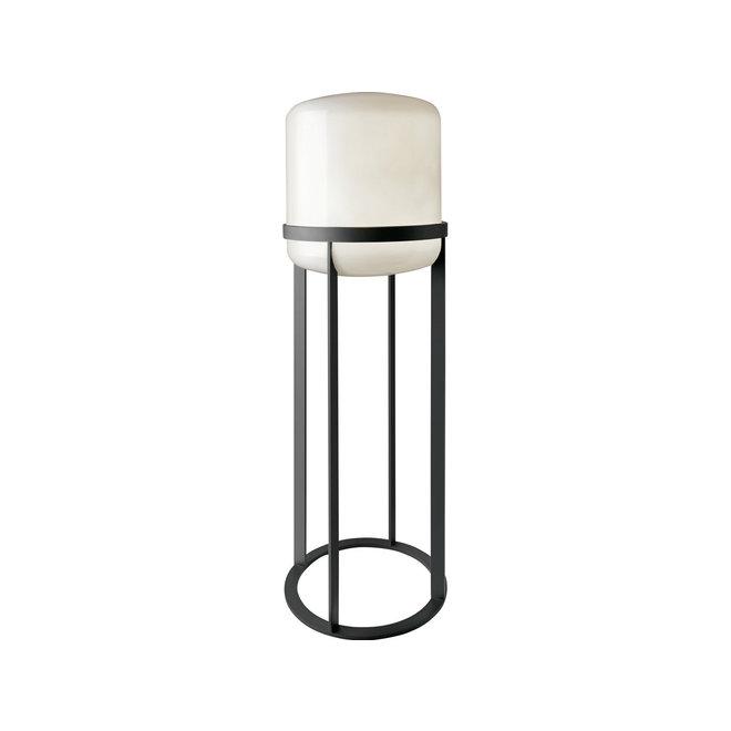Vloerlamp Melbourne, wit