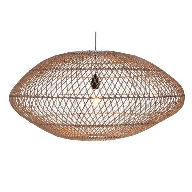 Rattan hanglamp UFO naturel