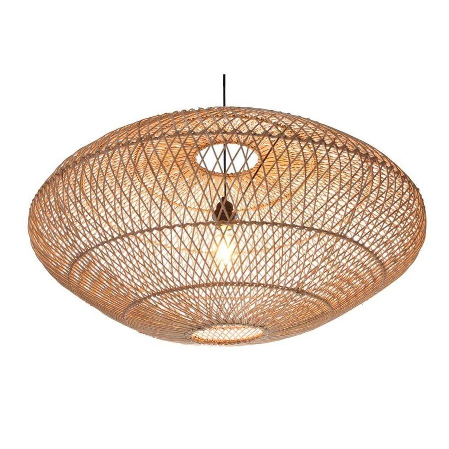 Villaflor Rattan hanglamp UFO naturel