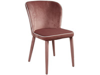 La Casa di Caesar Chair Rimmed Pink